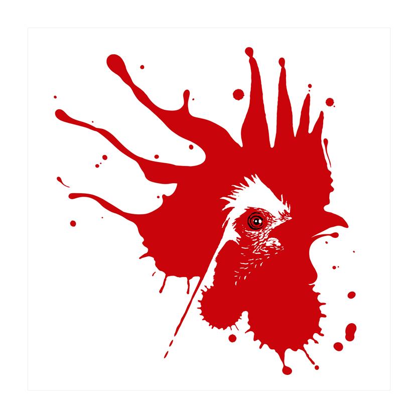 soheil hosseini/سهیل حسینی/استودیو تهران/Tehran Studio/tehran gallery/نقاشی/هنر/rooster/خروس