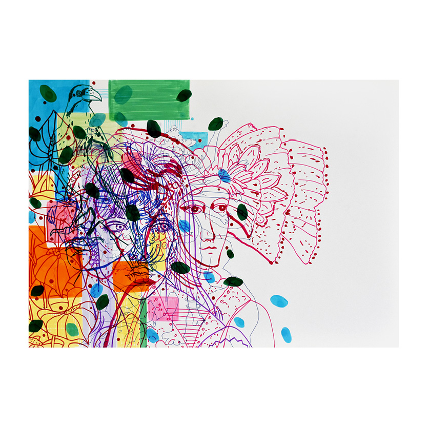 Asal alikhani عسل علیخانی/استودیو تهران/Tehran Studio/tehran gallery/نقاشی/هنر/