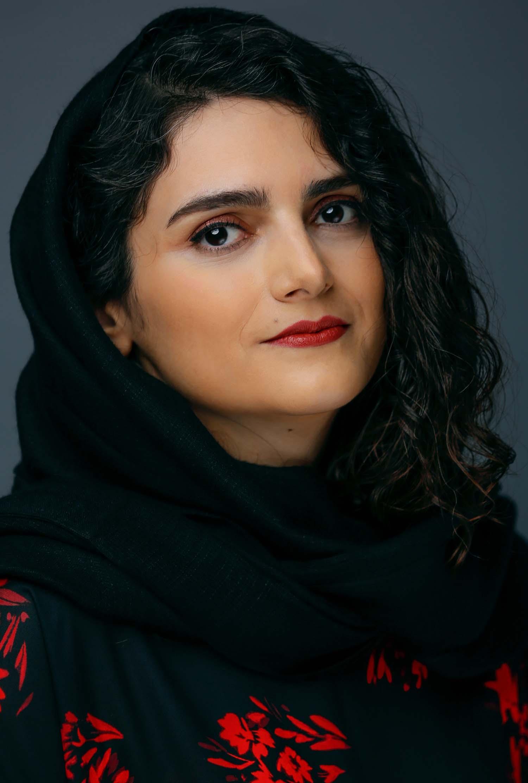 صبا گلباز عکس golbaz portrait copy
